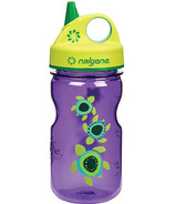 Nalgene 12 Ounce Grip-n-Gulp Bottle Purple with Sea Turtle Art