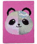 iScream Panda Reversible Sequins Journal