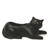 Kikkerland Cosmo The Black Cat Planter