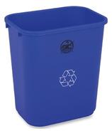 Genuine Joe Recycling Wastebasket