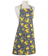 Now Designs Apron Chef Provencal Lemons