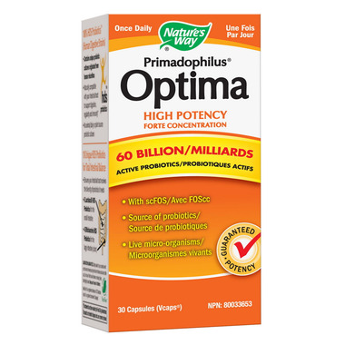 Nature\'s Way Primadophilus Optima High Potency Concentration