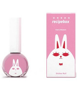 Recipebox Peel Off Nail Polish Cherry Blossom