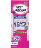 First Response Test And Confirm Pregnancy Test