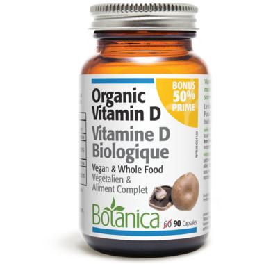 Botanica Organic Vitamin D Capsules