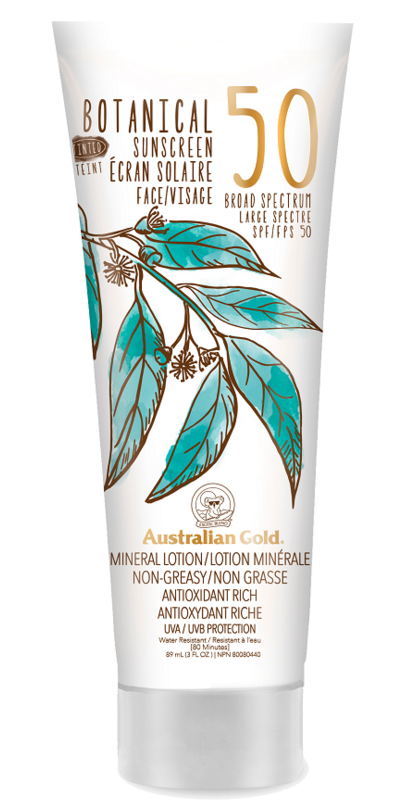 Buy Australian Gold Botanical Spf 50 Tinted Face Mineral Lotion From Canada At Well Ca Free Shipping