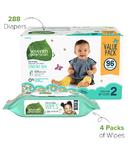 Seventh Generation Diaper & Wipes Bundle Size 2