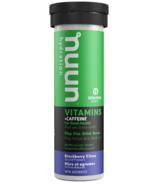 Nuun Hydration Vitamins + Caffeine Blackberry Citrus
