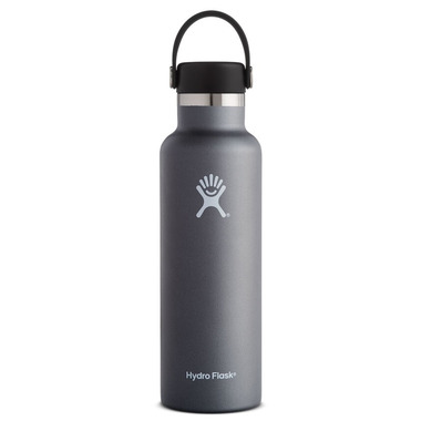 Hydro Flask Standard Mouth With Flex Cap Graphite