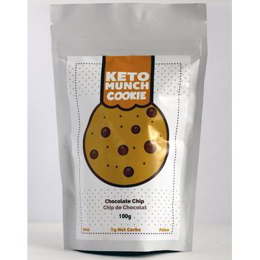 Keto Munch Chocolate Chip Cookies