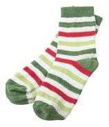 Little Blue House by Hatley Kids Socks Christmas Stripe