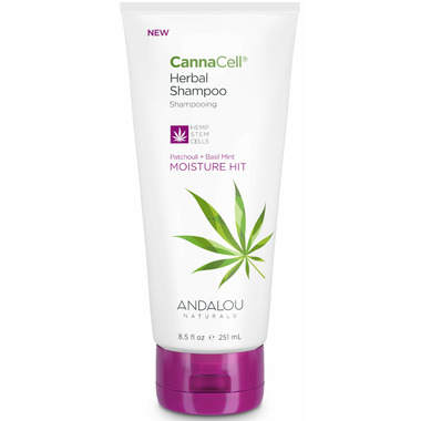 ANDALOU naturals CannaCell Herbal Shampoo Moisture Hit