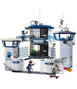 Playmobil City Action Police Headquarters with Prison (en anglais)