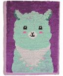 iScream Llama Reversible Sequins Journal
