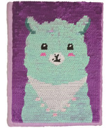 iScream Llama Reversible Sequins Journal