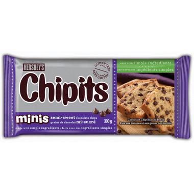 Hershey\'s Chipits Chocolate Chips Semi-Sweet Minis