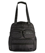 Lug Puddle Jumper Gym + Overnight Bag Shimmer Black