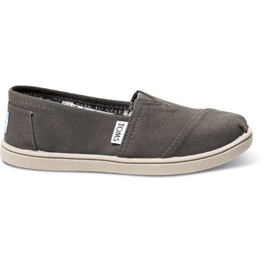 TOMS Youth Classic Alpargatas Ash Canvas