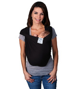 Baby K'Tan Solid Cotton Original Baby Carrier Black