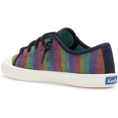 Keds Big Kids Kickstart Seasonal Toe Cap Rainbow