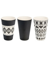 Woodway Bamboo Cup Set Aztec