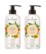 ATTITUDE Super Leaves Natural Hand Soap Orange Leaves Bundle