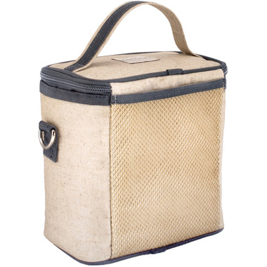 SoYoung Raw Linen Formation Large Cooler Bag