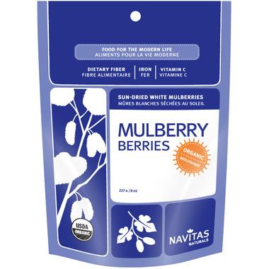 Navitas Naturals Organic Mulberry Dried Berries