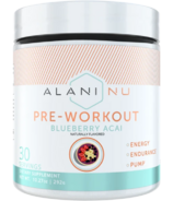 Alani Nu Pre-Workout Blueberry Acai