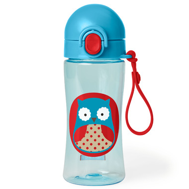 Skip Hop Zoo Lock-Top Sports Bottle Owl