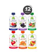 Bioitalia Organic Puree Smoothie Variety Bundle