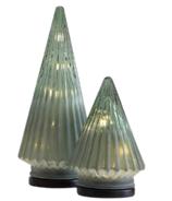 Lampe d'arbre à DEL givrée Harman, grand modèle vert