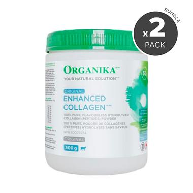 Organika Enhanced Collagen Protein Powder Bundle