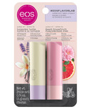 eos Flavor Lab Lavender Latte and Sweet Grapefruit Stick Lip Balm 2 Pack