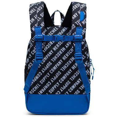Herschel Supply Heritage Youth Roll Call Black, White & Lapis Blue