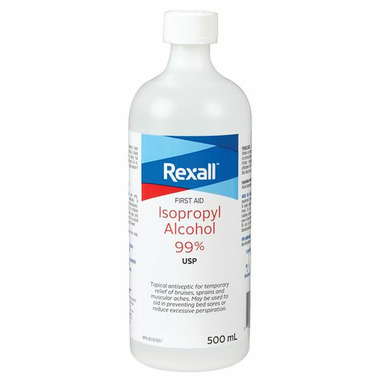 Rexall Isopropyl Alcohol 99%