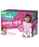 Pampers Easy Ups Girls Super Pack