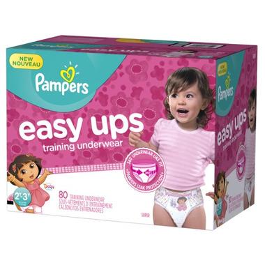 Pampers Easy Ups Girls Super Pack