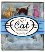 Fox Run Cat Cookie Cutter Set