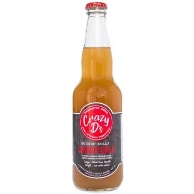 Crazy D\'s Prebiotic Soda Rockin\' Rolla Cherry Cola