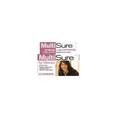 Webber Naturals MultiSure Multivitamin For Women