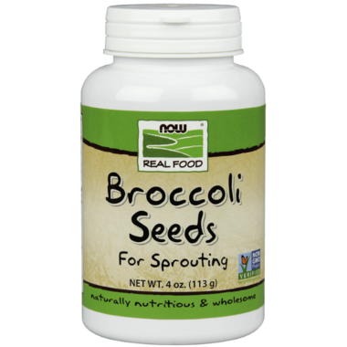 NOW Real Food Sproutable Broccoli Seeds