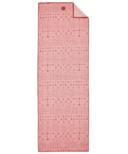 Manduka YogiToes Mat Towel Star Dye Coral
