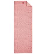 Manduka YogiToes Serviette de Tapis Teinture Étoilée Corail