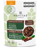 Navitas Organics Power Snacks Chocolate Cacao