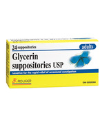Rougier Glycerin Suppositories