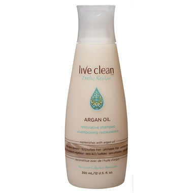 Live Clean Argan Oil Restorative Shampoo