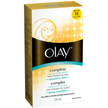 Olay Complete All Day Moisturizer SPF 15 - Sensitive Skin