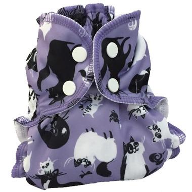AppleCheeks Diaper Cover Caturday