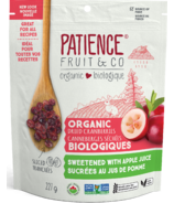 Patience Fruit & Co. Organic Dried Cranberries Sweetened with Apple Juice